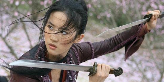迪士尼真人版《花木兰》女主敲定刘亦菲